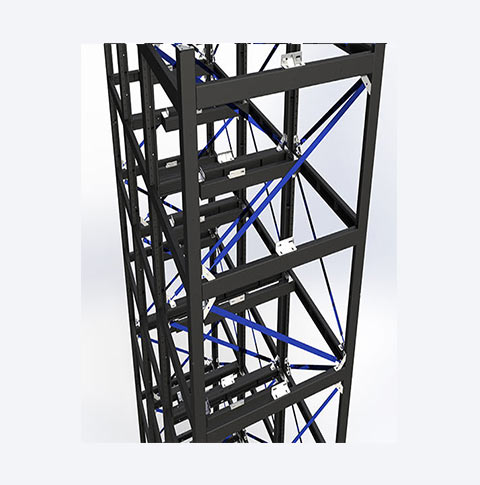 سازه پیچ و مهره ای کد MG015