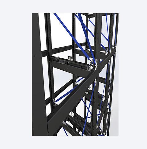 سازه پیچ و مهره ای کد MG014