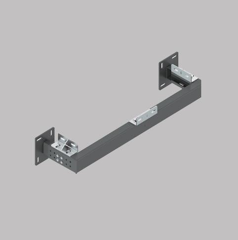 کلاف یو نصب دیواری قابل تنظیم