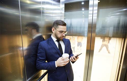 فراموشی ترس از آسانسور با بالابرهای ایمن