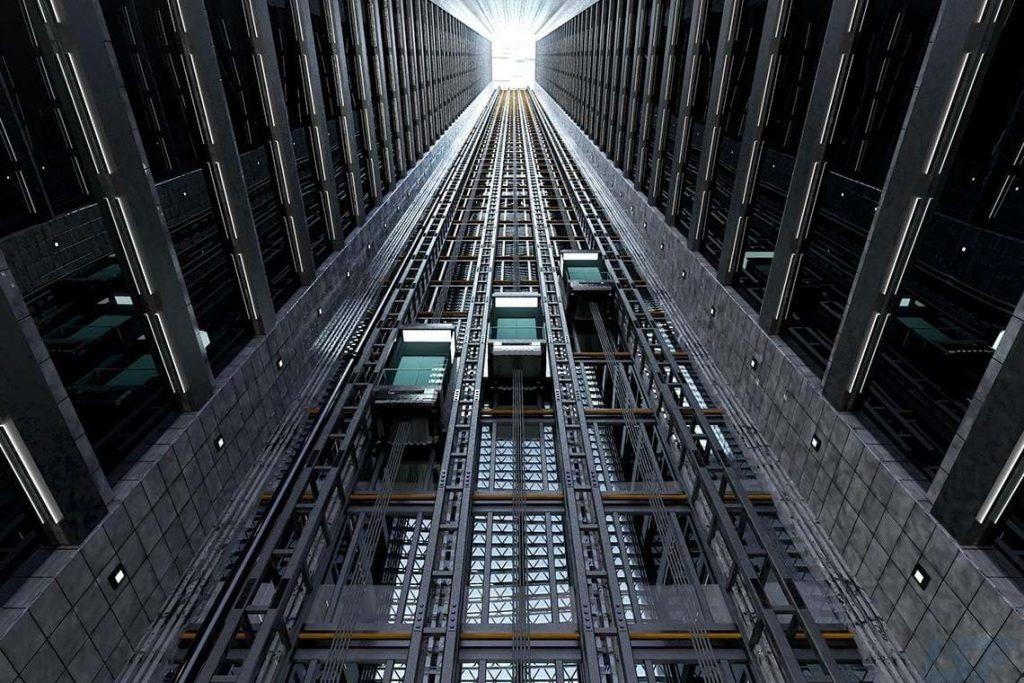 تقسیم بندی آسانسور کششی