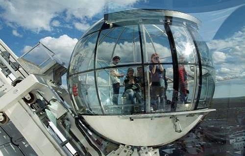 اسکای ویو سوئد یکی از شگفت انگیزترین آسانسورهای جهان