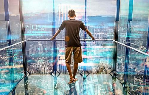 نوه و جنس شیشه آسانسور پانوراما