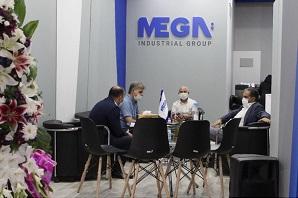 هیئت مدیره گروه مگا در نمایشگاه بین المللی ساختمان