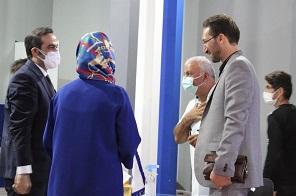حضور مردم در غرفه شرکت مگا در نمایشگاه بین المللی ساختمان