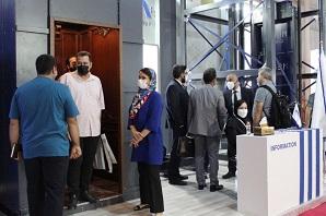 معرفی محصولات گروه مگا در نمایشگاه بین المللی ساختمان